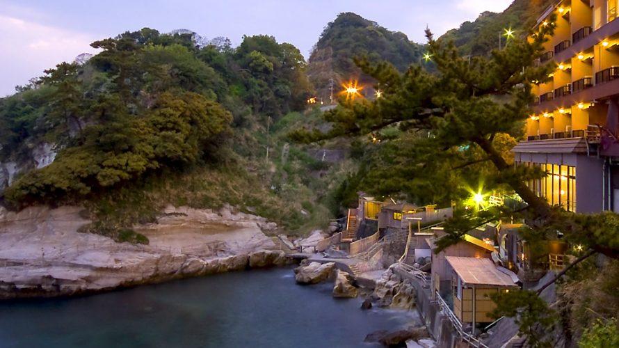 伊豆堂ヶ島の旅館「海辺のかくれ湯 清流」に泊ってきた!